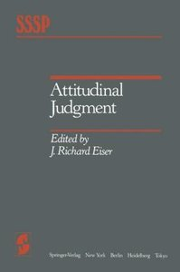 Attitudinal Judgment