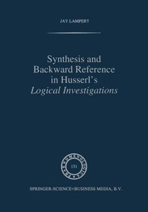 Synthesis and Backward Reference in Husserl's Logical Investigat