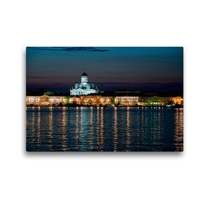 Premium Textil-Leinwand 45 cm x 30 cm quer Helsinki