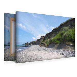 Premium Textil-Leinwand 45 cm x 30 cm quer Steilküste Hohes Ufer