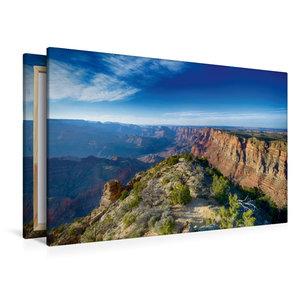 Premium Textil-Leinwand 120 cm x 80 cm quer Grand Canyon - Sunri