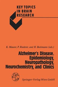 Alzheimer's Disease. Epidemiology, Neuropathology, Neurochemistr