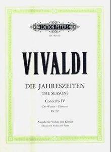 Die vier Jahreszeiten: Konzert für Violine, Streicher und Basso