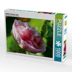 Abutilon Victorian Lady 1000 Teile Puzzle quer