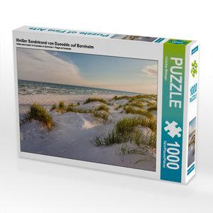 Weißer Sandstrand von Dueodde auf Bornholm 1000 Teile Puzzle que