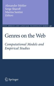 Genres on the Web