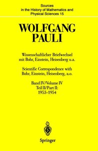 Wissenschaftlicher Briefwechsel mit Bohr, Einstein, Heisenberg u