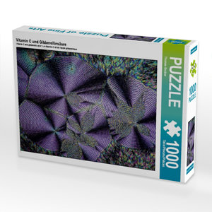 Vitamin C und Gibberellinsäure 1000 Teile Puzzle quer
