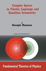 Complex Spaces in Finsler, Lagrange and Hamilton Geometries