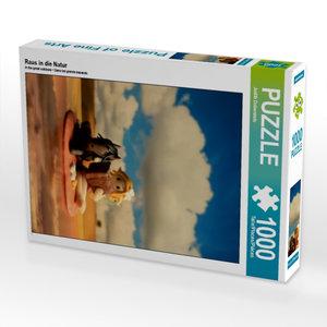 Raus in die Natur 1000 Teile Puzzle hoch
