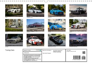 Tuning CarsAT-Version (Wandkalender 2020 DIN A3 quer)