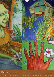 Thilia. Reise durch Mittelerde. Acrylmalerei von Michael Weiler.