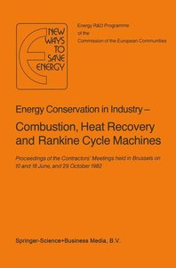 Energy Conserve in Industry - Combustion, Heat Recovery and Rank