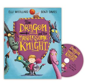 The Dragon and the Nibblesome Knight, w. Audio-CD