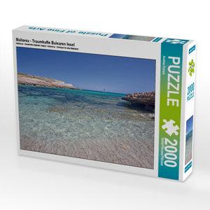 CALVENDO Puzzle Mallorca - Traumhafte Balearen Insel 2000 Teile