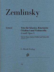 Trio für Klavier, Klarinette (Violine) und Violoncello d-moll op