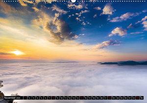 Nebelwelten Sächsische Schweiz (Wandkalender 2020 DIN A2 quer)