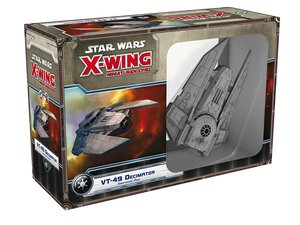 Asmodee FFGD4012 - Star Wars X-Wing, VT-49 Decimator, Erweiterun
