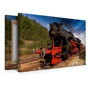 Premium Textil-Leinwand 45 cm x 30 cm quer Lok 52 7596 - gebaut
