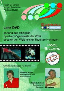 Lehr-DVD Pool Billard PAT 01 Playing Ability Test. DVD