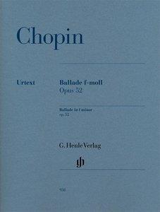 Ballade f-moll op. 52