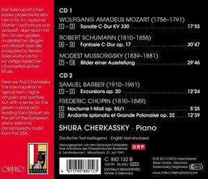 Sonate KV 330,Fantasie op.17,Bilder,Grande Polona