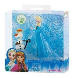 Spielfigurenset - Walt Disney Die Eiskönigin, Elsa und Olaf