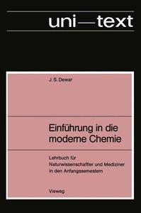 Einführung in die moderne Chemie