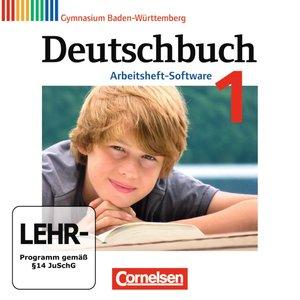 Deutschbuch 1: 5. Schuljahr Übungs-CD-ROM zum Arbeitsheft. Gymna