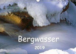 Bergwasser (Wandkalender 2019 DIN A3 quer)