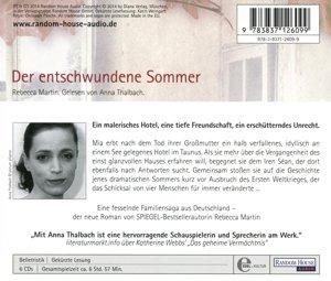 Der entschwundene Sommer