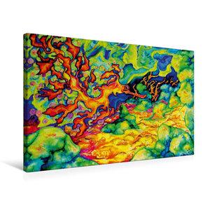 Premium Textil-Leinwand 75 cm x 50 cm quer Refugium