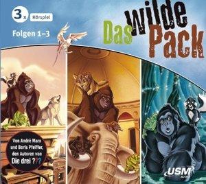 Das wilde Pack Hörbox Folgen 1-3