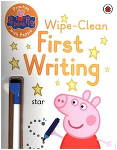 Peppa Pig: Practise With Peppa: Wipe Clean First Writing