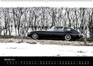 Jaguar E-Type 2019 (Wandkalender 2019 DIN A2 quer)
