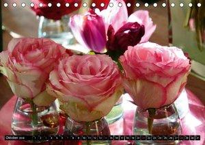 Rosen, Rosen ... arrangiert und am Strauch