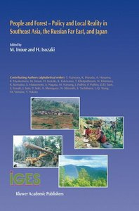 People and Forest - Policy and Local Reality in Southeast Asia,