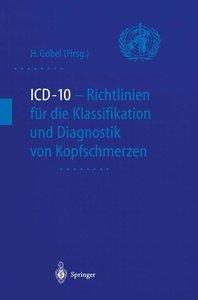 ICD-10 - Richtlinien für die Klassifikation und Diagnostik von K
