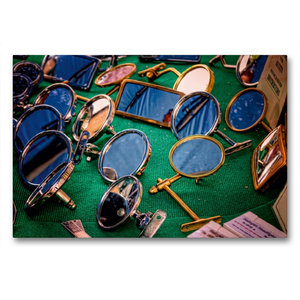 Premium Textil-Leinwand 90 cm x 60 cm quer Außenspiegel