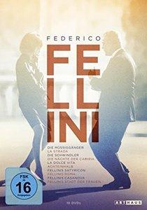 Federico Fellini Edition, DVD
