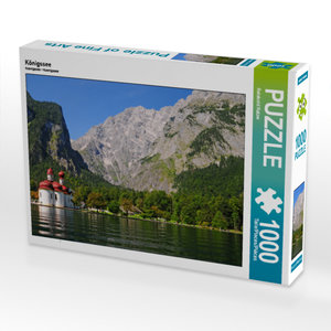 CALVENDO Puzzle Königssee 1000 Teile Lege-Größe 64 x 48 cm Foto-