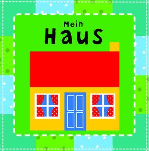 Stoffbuch - Mein Haus