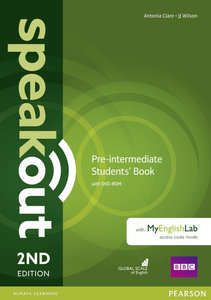 Speakout Pre-Intermediate. Students' Book with DVD-ROM and MyEng