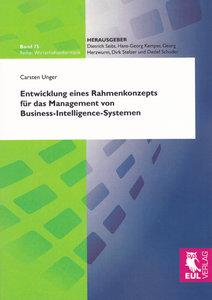 Entwicklung eines Rahmenkonzepts für das Management von Business