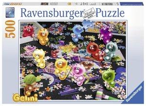 Gelini beim Puzzlen (Puzzle)