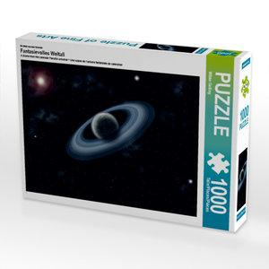 Ein Motiv aus dem Kalender Fantasievolles Weltall 1000 Teile Puz