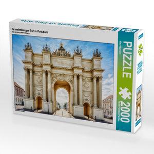 CALVENDO Puzzle Brandenburger Tor in Potsdam 2000 Teile Lege-Grö