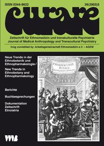 Curare. Zeitschrift für Ethnomedizin und transkulturelle Psychia