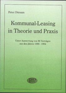 Kommunal-Leasing in Theorie und Praxis