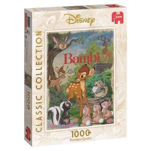 Jumbo 19491 - Disney Classic Collection Bambi, 1.000 Teile Puzzl